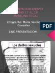 Presentacion Knovio Temas 17 Al 19 Medicina Legal Maria