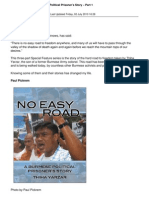 8860 No Easy Road a Burmese Political Prisoners Story Part 1