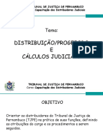 Curso de Cálculos Judiciais - 1º Grau