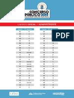 Gabarito Oficial Cp 2015 2 UFSM