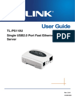 995283-An-01-En-tp Link Usb Print Server Tl Ps110u