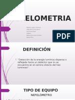 NEFELOMETRIA Exposic