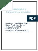 Edwin Contreras Previo de Registros