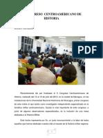 X Congreso Centroamericano de Historia