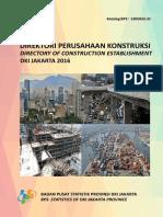 Direktori Perusahaan Konstruksi DKI Jakarta 2016