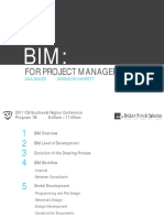 BIM for Project Managers