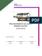 Procedimiento de Epp