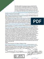 Johnson El Statutory Declaration