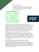 1.5 Equilibrio y Desequilibrio Macroeconómico