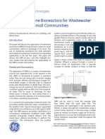 Using Membranes Bioreactors