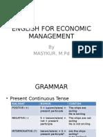 English for Economic Management