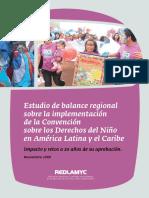 Balance en Latinoam Desde Convención Derechos Del Niño