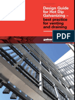 Design Guide for Hot Dip Galvanizing - Best Practice Venting and Draining