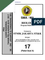 Soal Pra Ujian Nasional Biologi Sma Kode a (17) [Pak-Anang.blogspot.com]