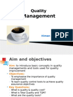 IE-L3- Presentation New- Quality Management