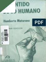 LIBRO Maturana El Sentido de lo Humano - Humberto.pdf