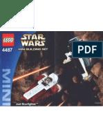 LEGO 4487 - Mini Jedi Star Fighter