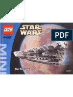 LEGO 4492 - Mini Star Destroyer