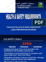 Overview Kjo Safety Requirements