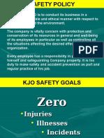 Safety Orientation Program - Kjo