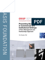 Preventing Burglary in Commercial and Institutional Settings
