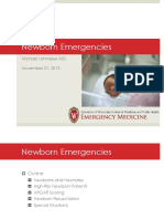 Newborn Emergencies