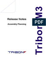 Assembly Planning M3