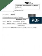 Minaco Swiss Bank_Zecevic Resignation