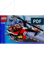 LEGO Set 7238 - Fire Helicopter
