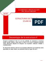 Estructura de Seleccion Switch (Clase 6)