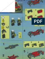 LEGO Set 7240 - Fire Station