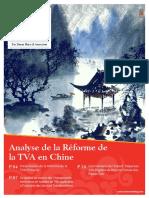 Analyse de la Réforme de La TVA en Chine