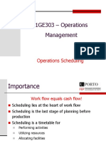 6 - Operations Scheduling
