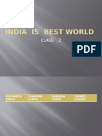 India is Best World