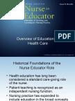 Health Teaching