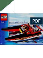LEGO Set 7244 - Speedboat