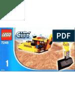 LEGO Set 7248 - Excavator