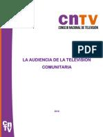 La Audiencia de La Televisi n Comunitaria