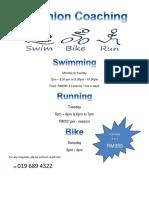Triathlon Coaching