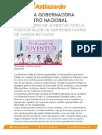 INAUGURA GOBERNADORA ENCUENTRO NACIONAL