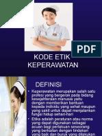 5. Kode Etik Keperawatan