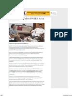 Presiden Janji Teken PP KEK Arun - Serambi Indonesia