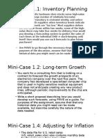 Mini-Case 1
