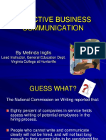 Writing Business Communications