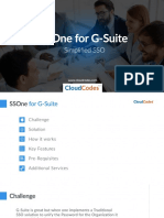SSOne for G-Suite