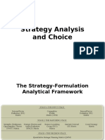 Ch 6 Strategy Analysis and Choice