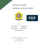 Bab 8 Keseimbangan Dalam Model Statis