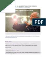 Quantum Physics and Spirituality