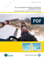 EMEP EEA Air Pollutant Emission Inventory Guidebook 2016 Introduction