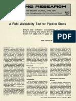 A Field Weldability Test for Pipeline Steels.pdf